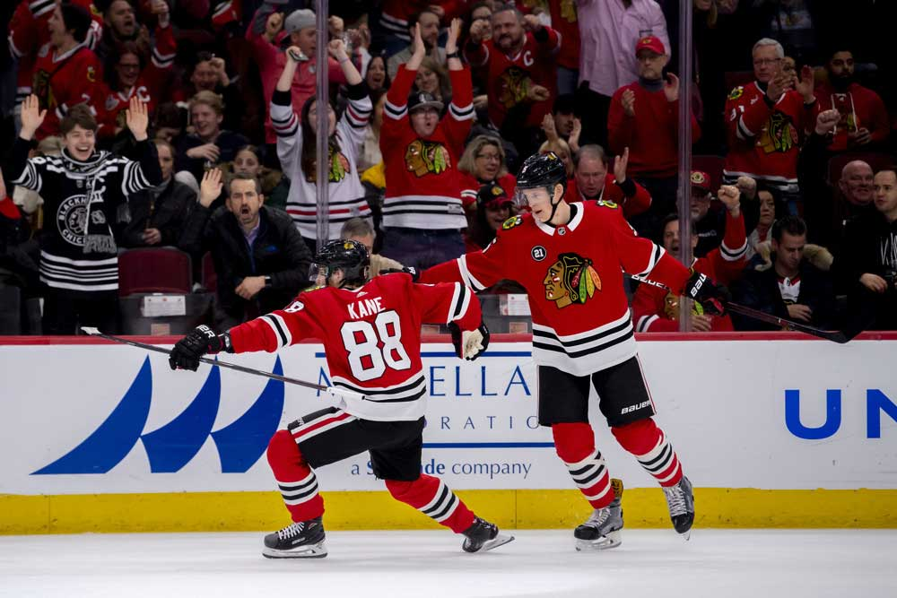 Blackhawks'-Kane-On-A-Scoring-Hot-Streak