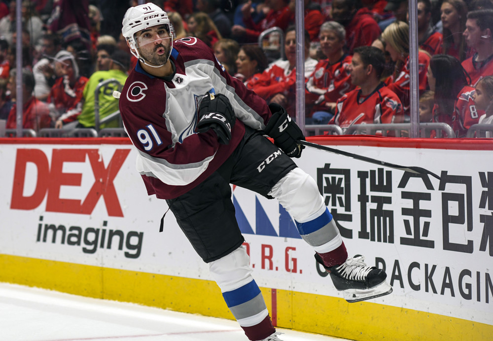 NHL: OCT 14 Avalanche at Capitals